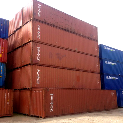 Sortimenterweiterung mit neuen und gebrauchten Seecontainer