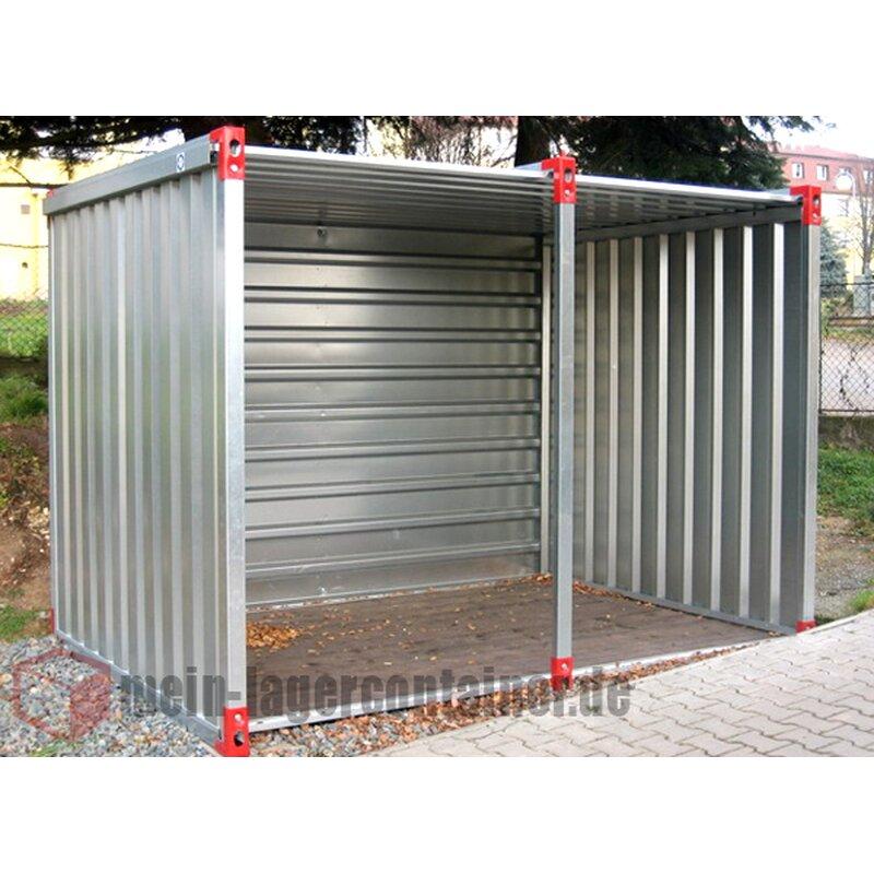 5m Unterstand Container Für Holz Fahrräder Motorrad Oder