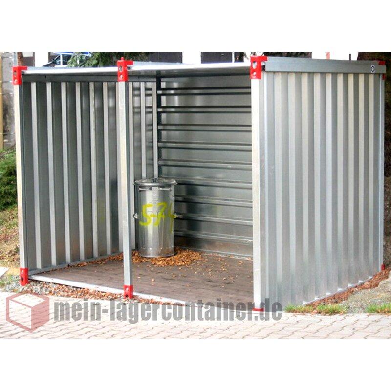 6m Unterstand Container Für Holz Fahrräder Motorrad Oder