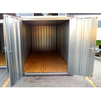 4m Materialcontainer Schnellbaucontainer Lagerbox...