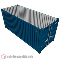 15 Fuß Materialcontainer Lagercontainer massiv...