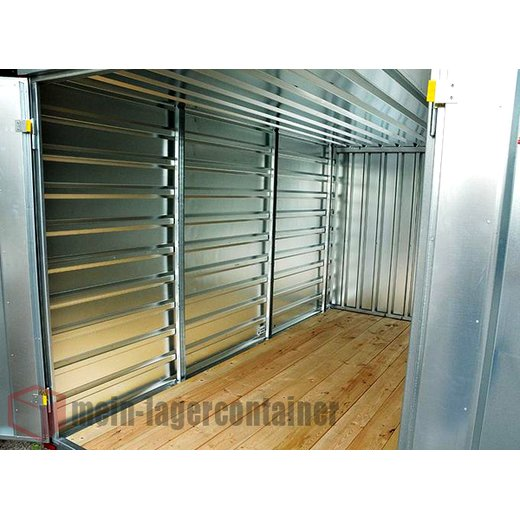 5m Materialcontainer Lagercontainer Blechcontainer Garage Baustelle Container