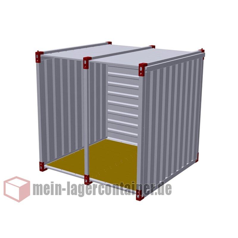 2m Unterstand Container Für Holz Fahrräder Motorrad Oder